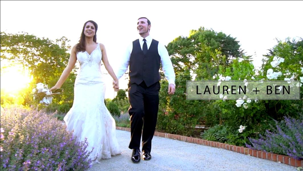 Lauren + Ben | Wedding Video at Memphis Botanic Garden