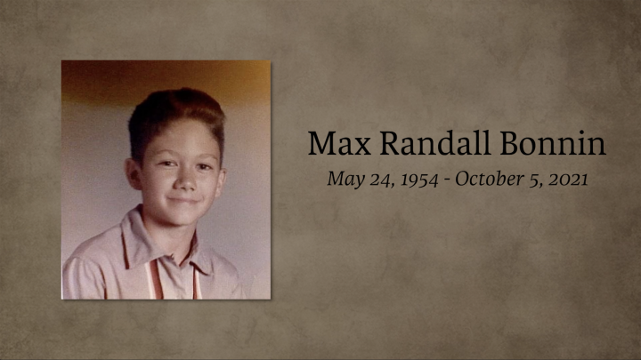Funeral Service for Mr. Max Bonnin